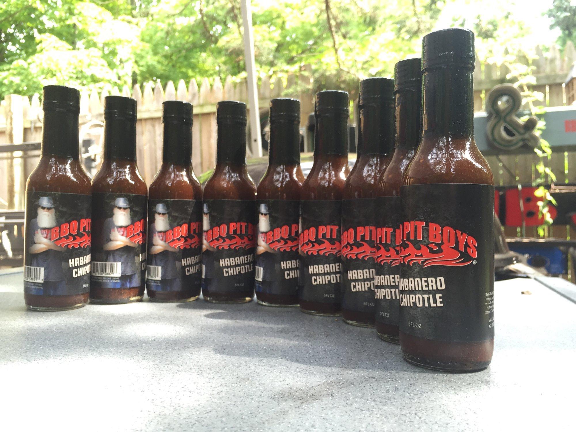 BBQ Pit Boys Hot Sauce